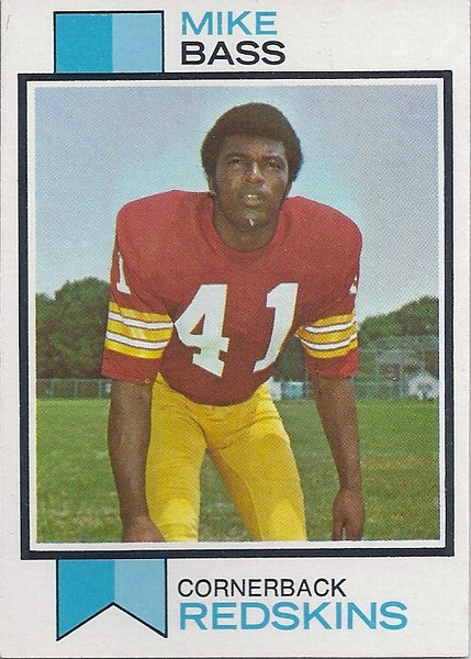 Mike Bass 1973 Topps