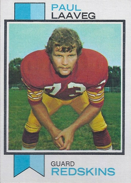 Paul Laaveg 1973 Topps