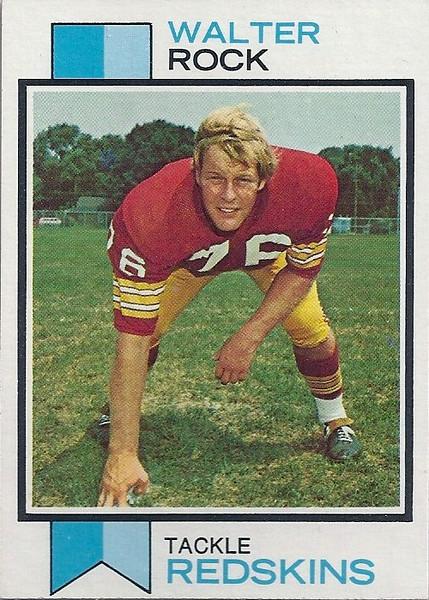 Walter Rock 1973 Topps