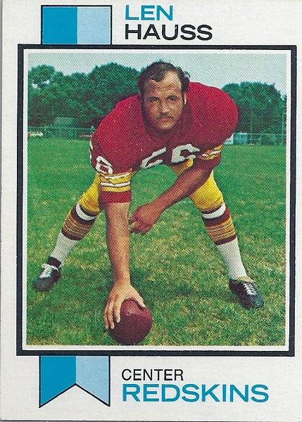 Len Hauss 1973 Topps