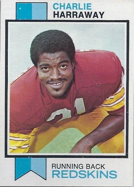 Charley Harraway 1973 Topps