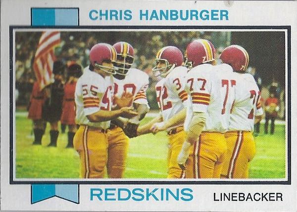 Chris Hanburger 1973 Topps