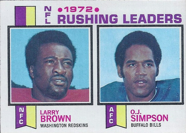 Rushing Leaders 1973 Topps