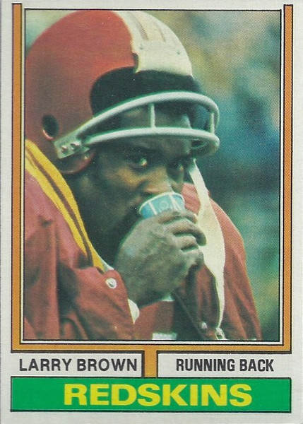 Larry Brown 1974 Topps