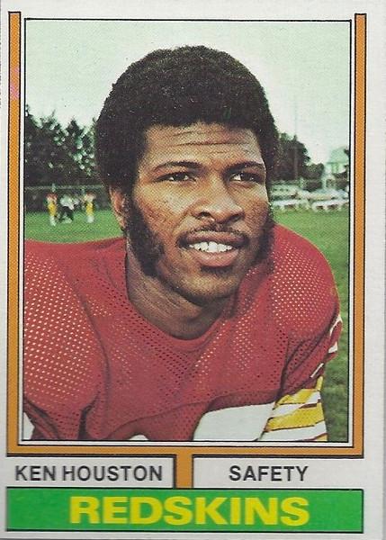 Ken Houston 1974 Topps