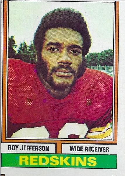 Roy Jefferson 1974 Topps