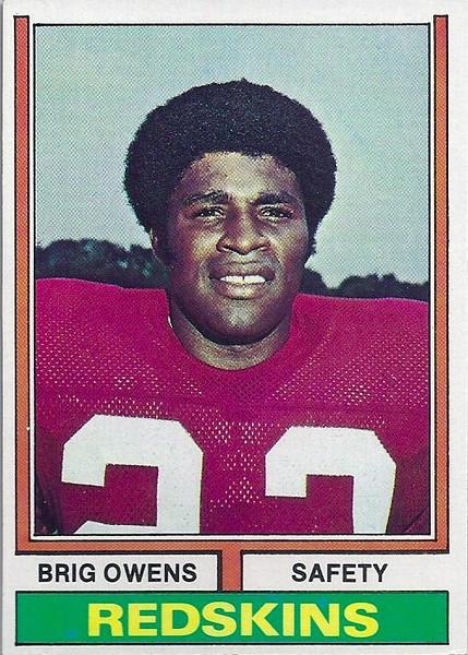 Brig Owens 1974 Topps