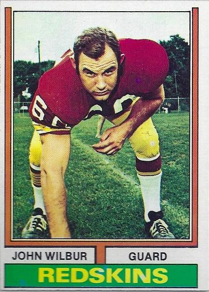 John Wilbur 1974 Topps