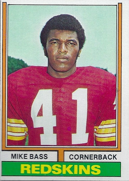 Mike Bass 1974 Topps