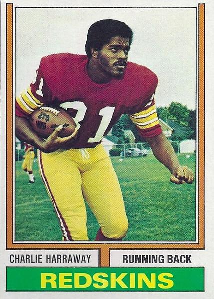 Charley Harraway 1974 Topps