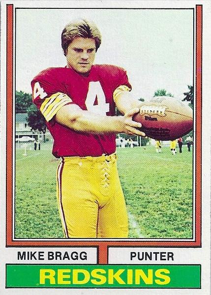 Mike Bragg 1974 Topps
