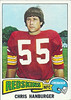 Chris Hanburger 1975 Topps