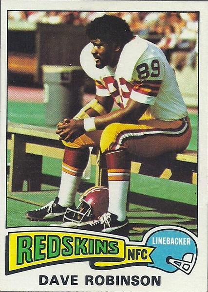 Dave Robinson 1975 Topps