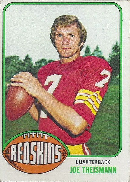 Joe Theismann 1976 Topps