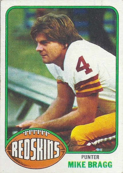 Mike Bragg 1976 Topps