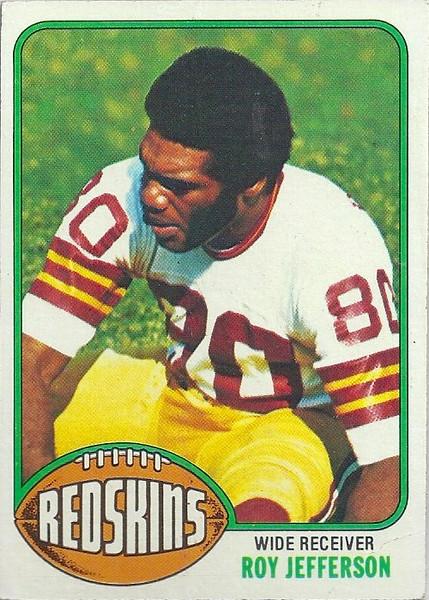Roy Jefferson 1976 Topps