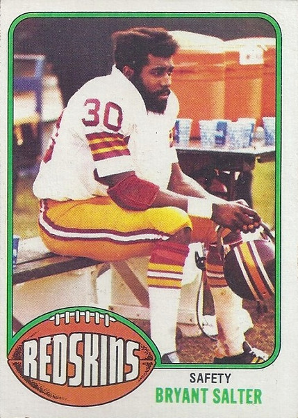 Bryant Salter 1976 Topps
