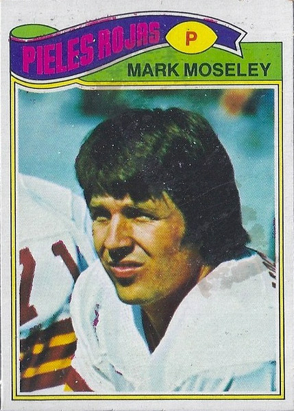Mark Moseley 1977 Topps Mexican