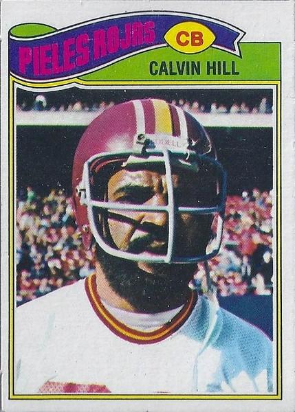 Calvin Hill 1977 Topps Mexican