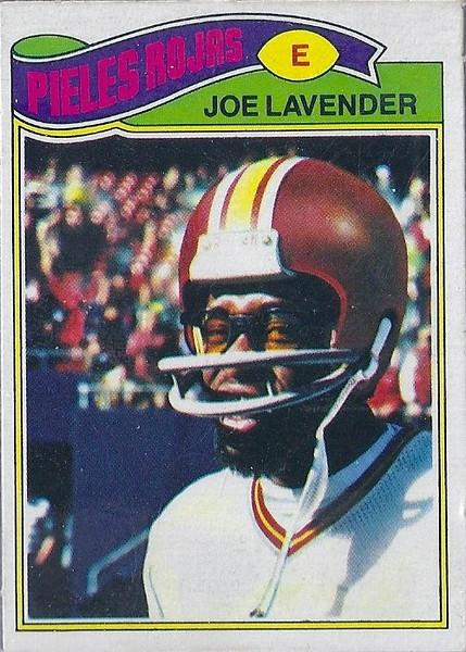Joe Lavender 1977 Topps Mexican