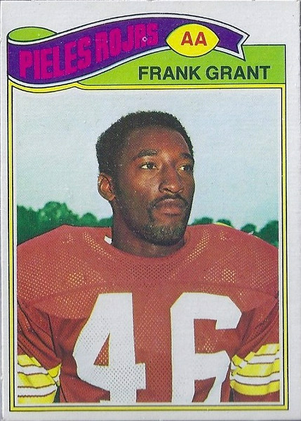 Frank Grant 1977 Topps Mexican