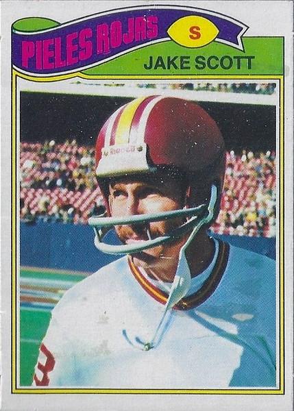 Jake Scott 1977 Topps Mexican