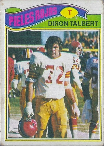 Diron Talbert 1977 Topps Mexican