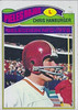 Chris Hanburger 1977 Topps Mexican