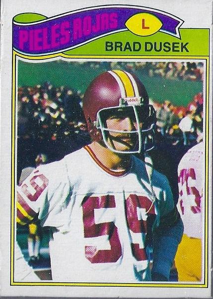Brad Dusek 1977 Topps Mexican