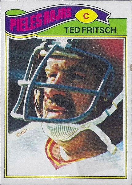Ted Fritsch 1977 Topps Mexican