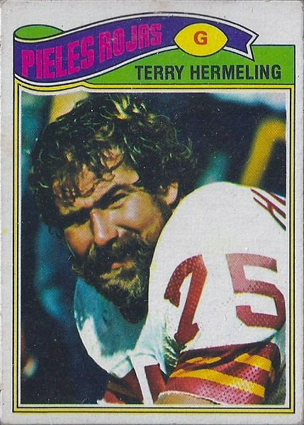 Terry Hermeling 1977 Topps Mexican