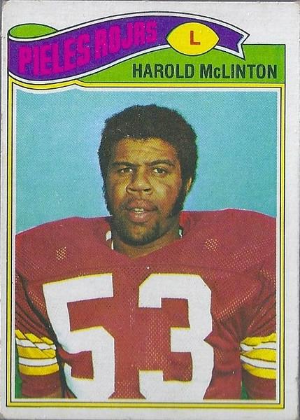 Harold McLinton 1977 Topps Mexican