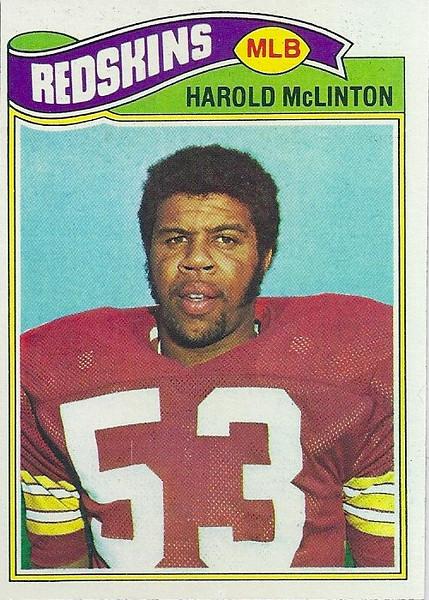 Harold McLinton 1977 Topps