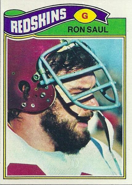 Ron Saul 1977 Topps