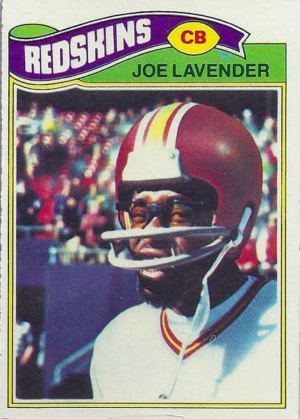 Joe Lavender 1977 Topps