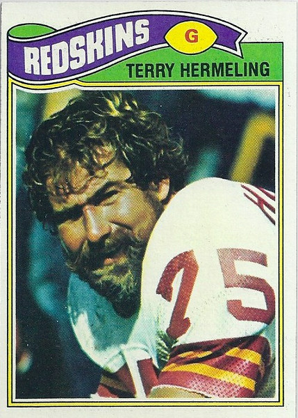 Terry Hermeling 1977 Topps