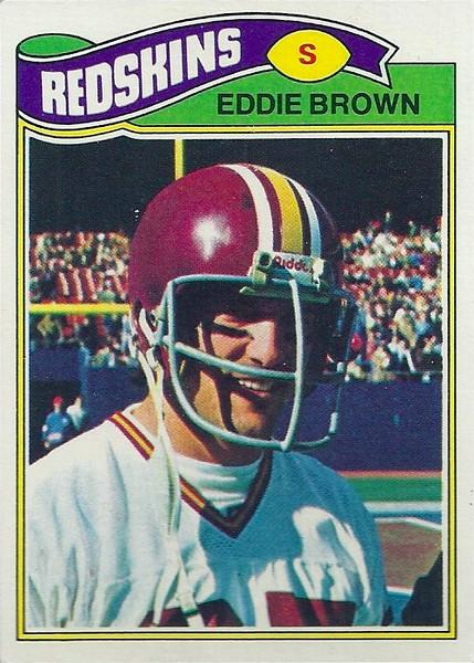 Eddie Brown 1977 Topps