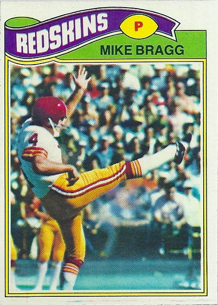 Mike Bragg 1977 Topps