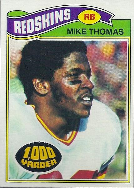 Mike Thomas 1977 Topps