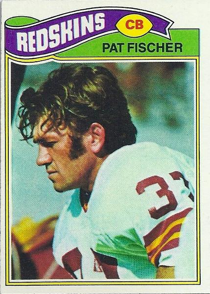 Pat Fischer 1977 Topps