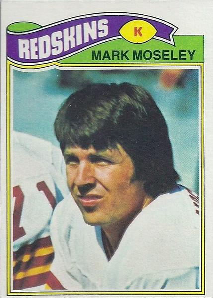 Mark Moseley 1977 Topps