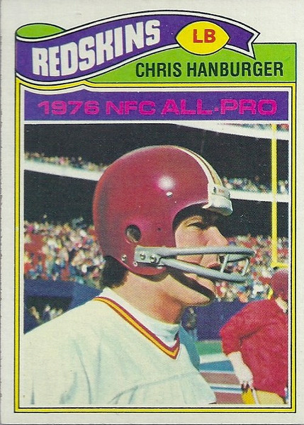 Chris Hanburger 1977 Topps