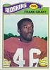 Frank Grant 1977 Topps
