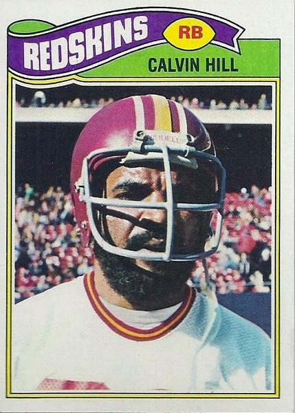 Calvin Hill 1977 Topps