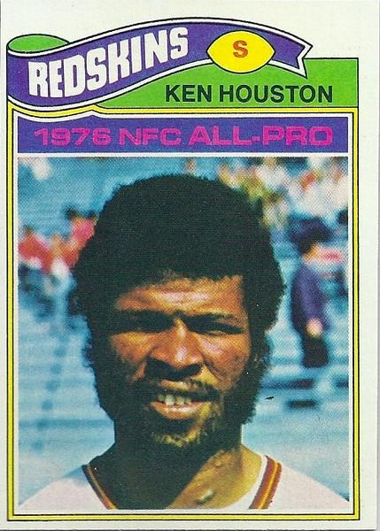 Ken Houston 1977 Topps