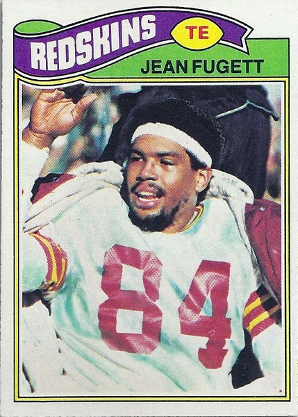Jean Fugett 1977 Topps