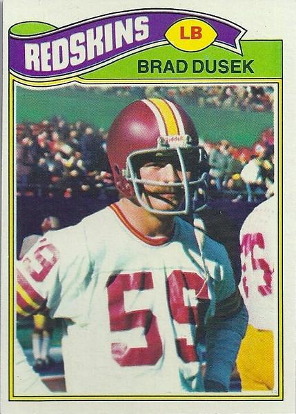 Brad Dusek 1977 Topps