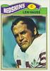 Len Hauss 1977 Topps
