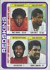 Redskins Team Leaders 1978 Topps