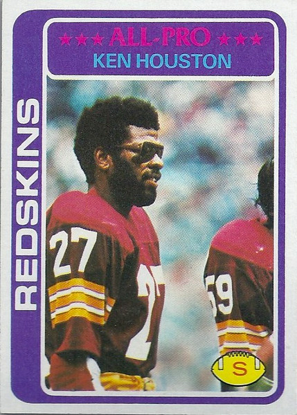 Ken Houston 1978 Topps